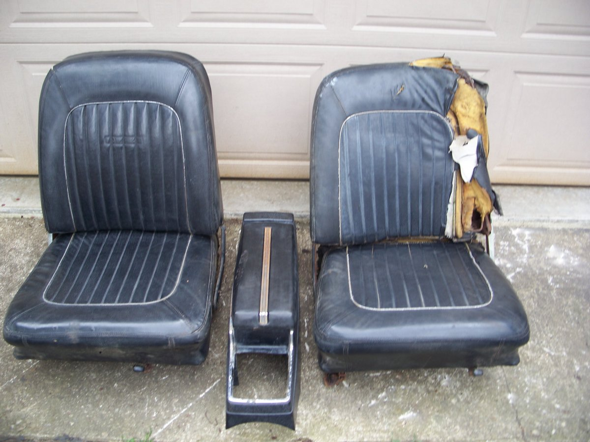 1964 Falcon Bucket Seats And Console Sold The H A M B