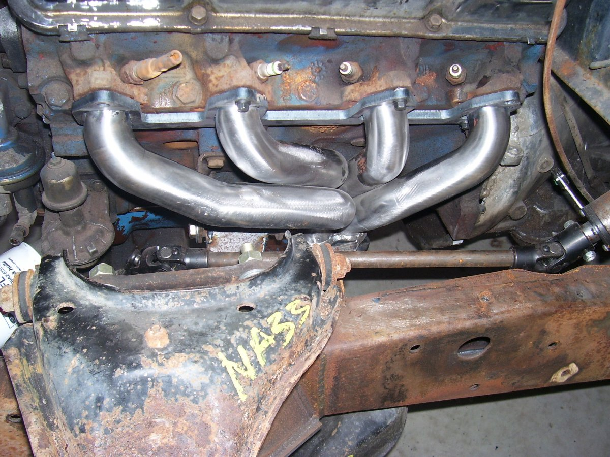 Technical - Ford FE exhaust manifolds | The H A M B