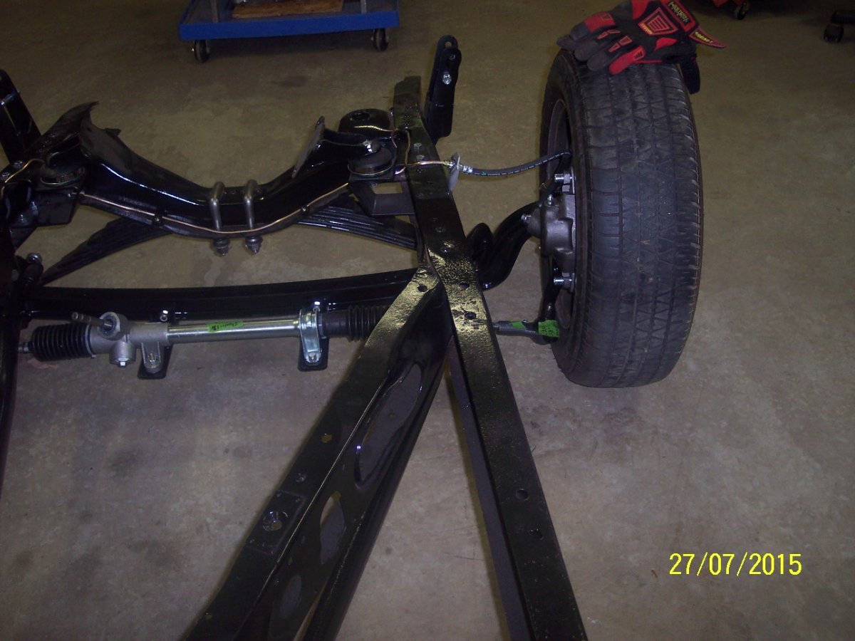 Rack And Pinion On A 56 Solid Axle Pickup The H A M B