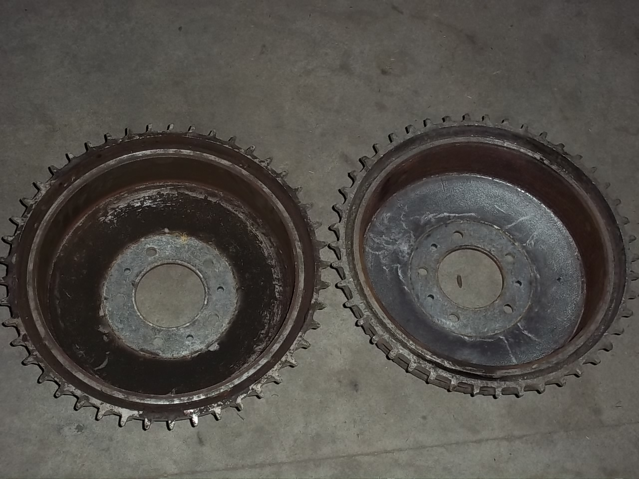 Scored Brake Drums : Fin buick drums the h a m b