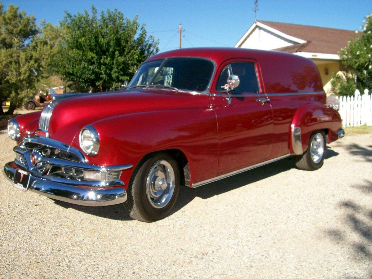 "1951 Pontiac Coupe For Sale: 1951 Pontiac Sedan Delivery ""SOLD"""