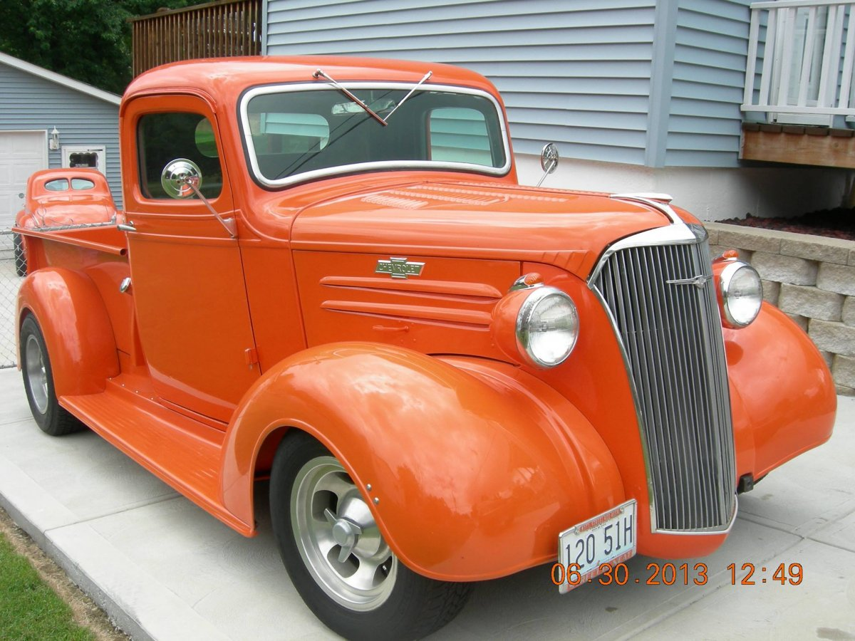 1937 Chevy Truck The H A M B