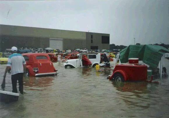 Event Coverage Flooded Car Show The HAMB - Louisville car show