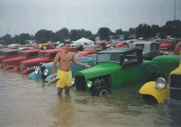 Event Coverage Flooded Car Show The HAMB - Car show kentucky