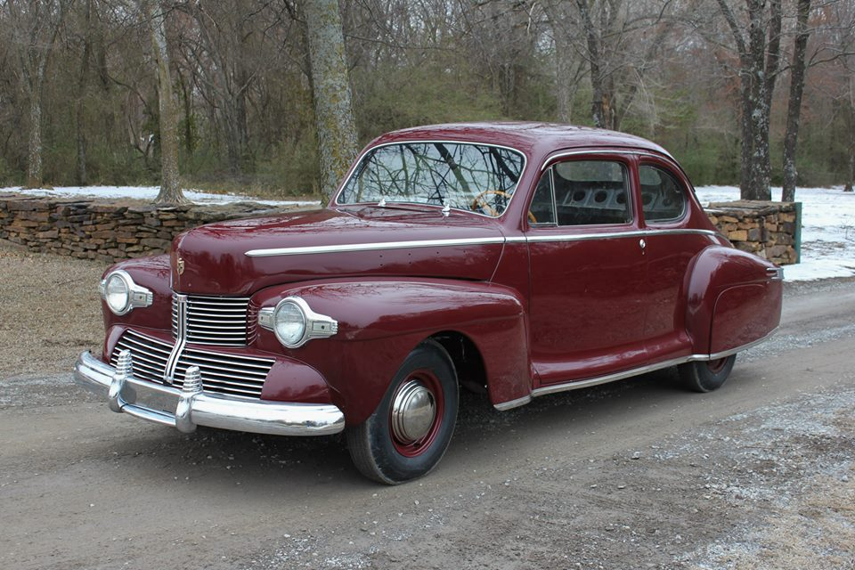Customs 1942 Lincoln Zephyr Hood Trim The H A M B