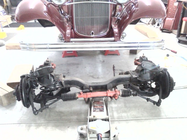 Street Rod Front Axle : Technical corvair front suspension for a street rod