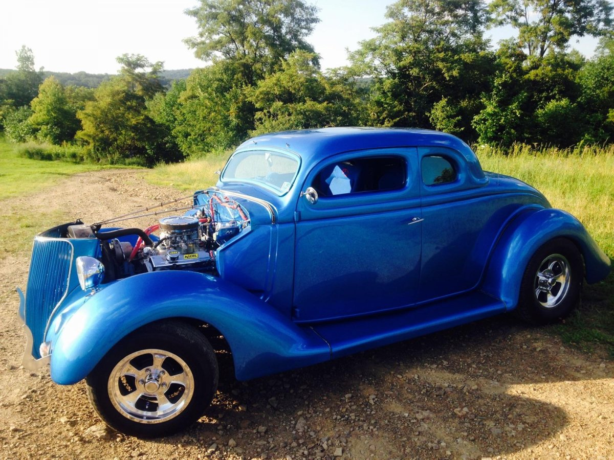 Hot Rods - Price Check: 1936 Ford 5 Window Coupe | The H.A.M.B.