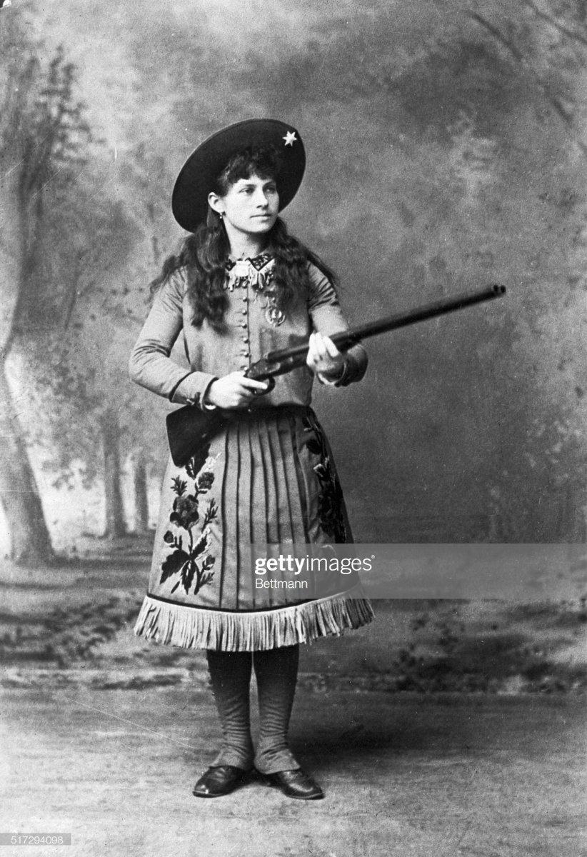 12a Annie Oakley Holding a Rifle.jpg