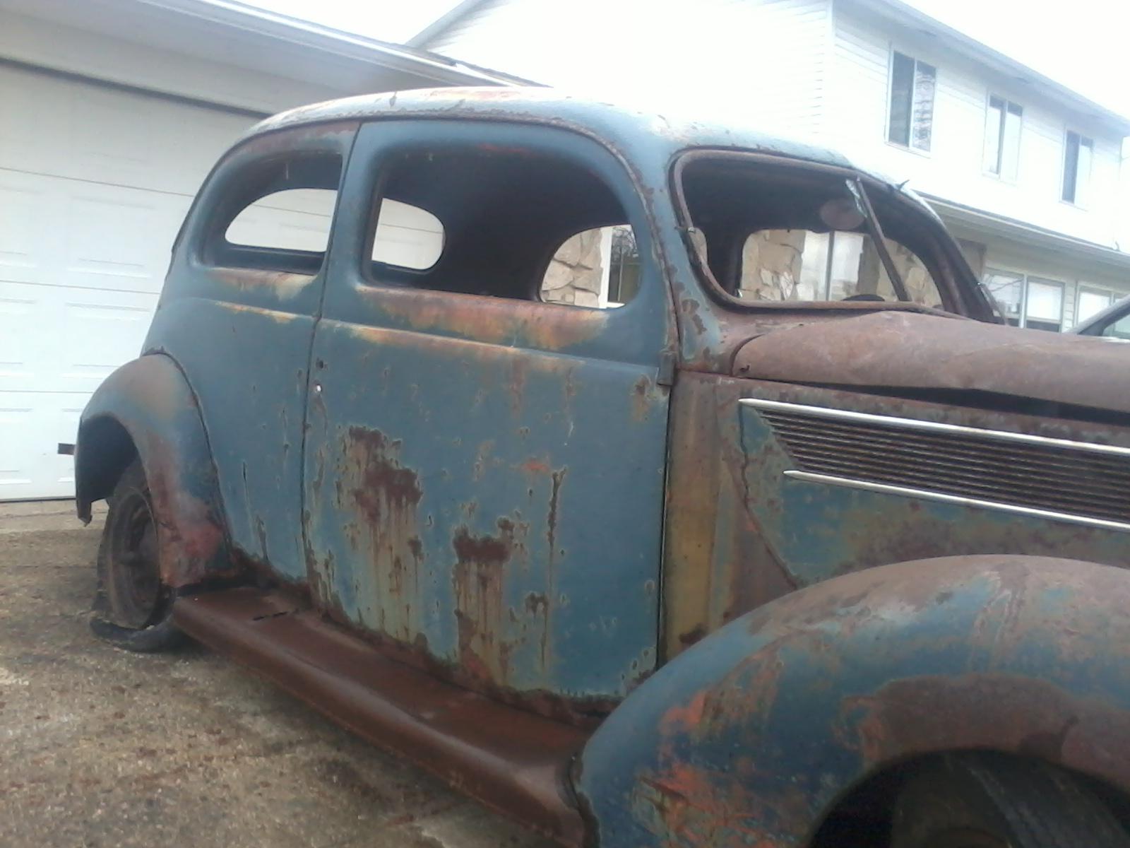 1937 ford 2 door slant back the h a m b for 1937 ford 2 door slant back