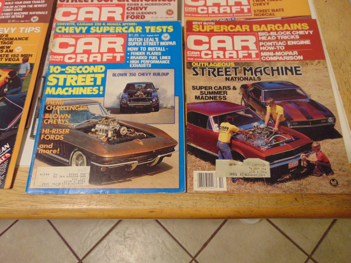 90 issues of Car Craft Magazine 1971-1985 | The H.A.M.B.