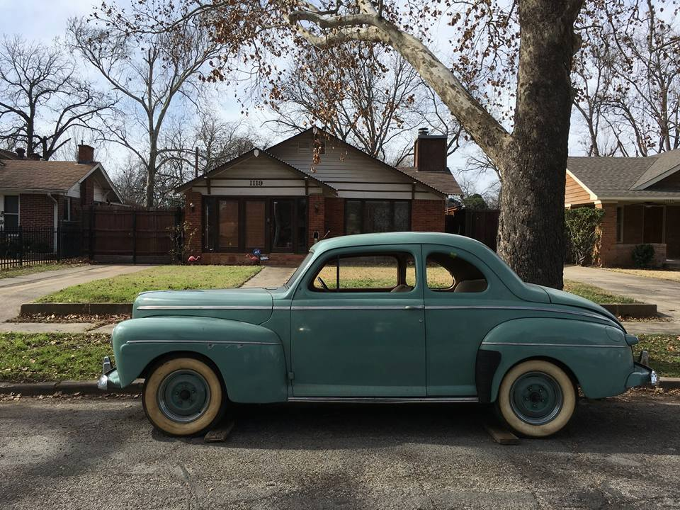 1942 Ford Super Deluxe Coupe The H A M B
