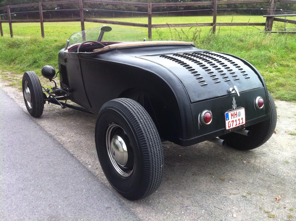 Ford Model A Roadster 1929 Hot Rod traditional Flathead V8 | The ...