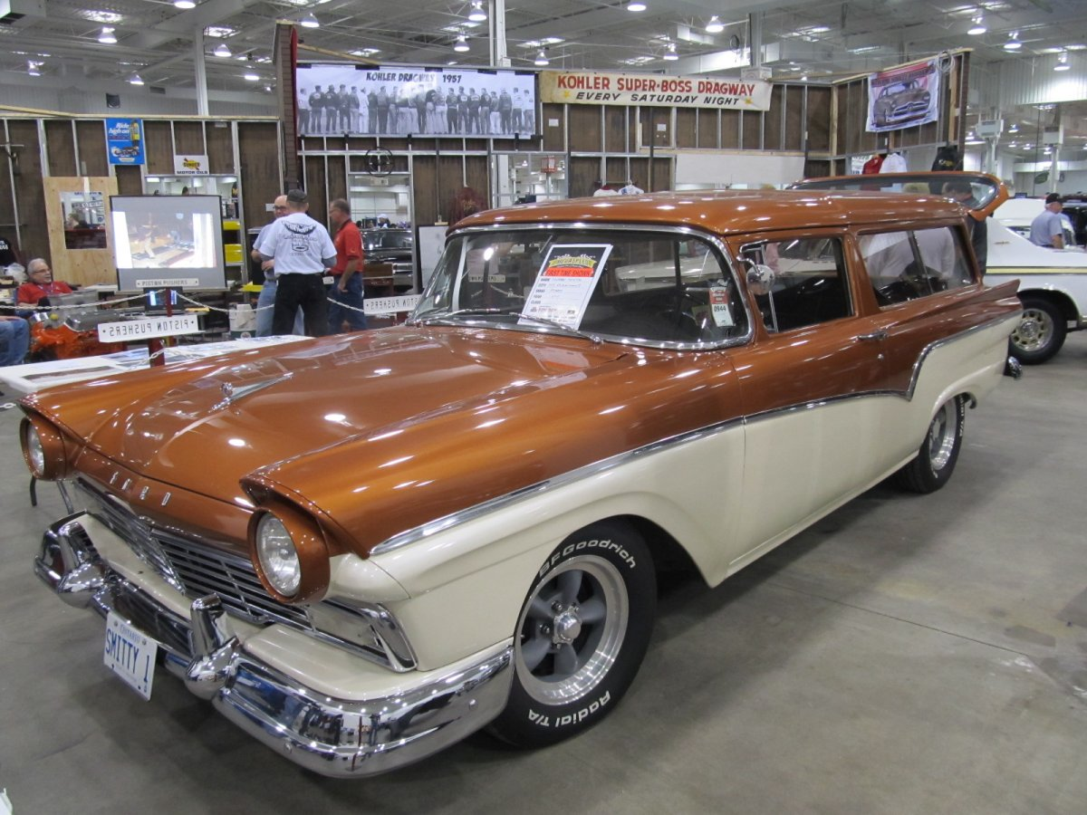 57 Ford Wagon | The Wagon