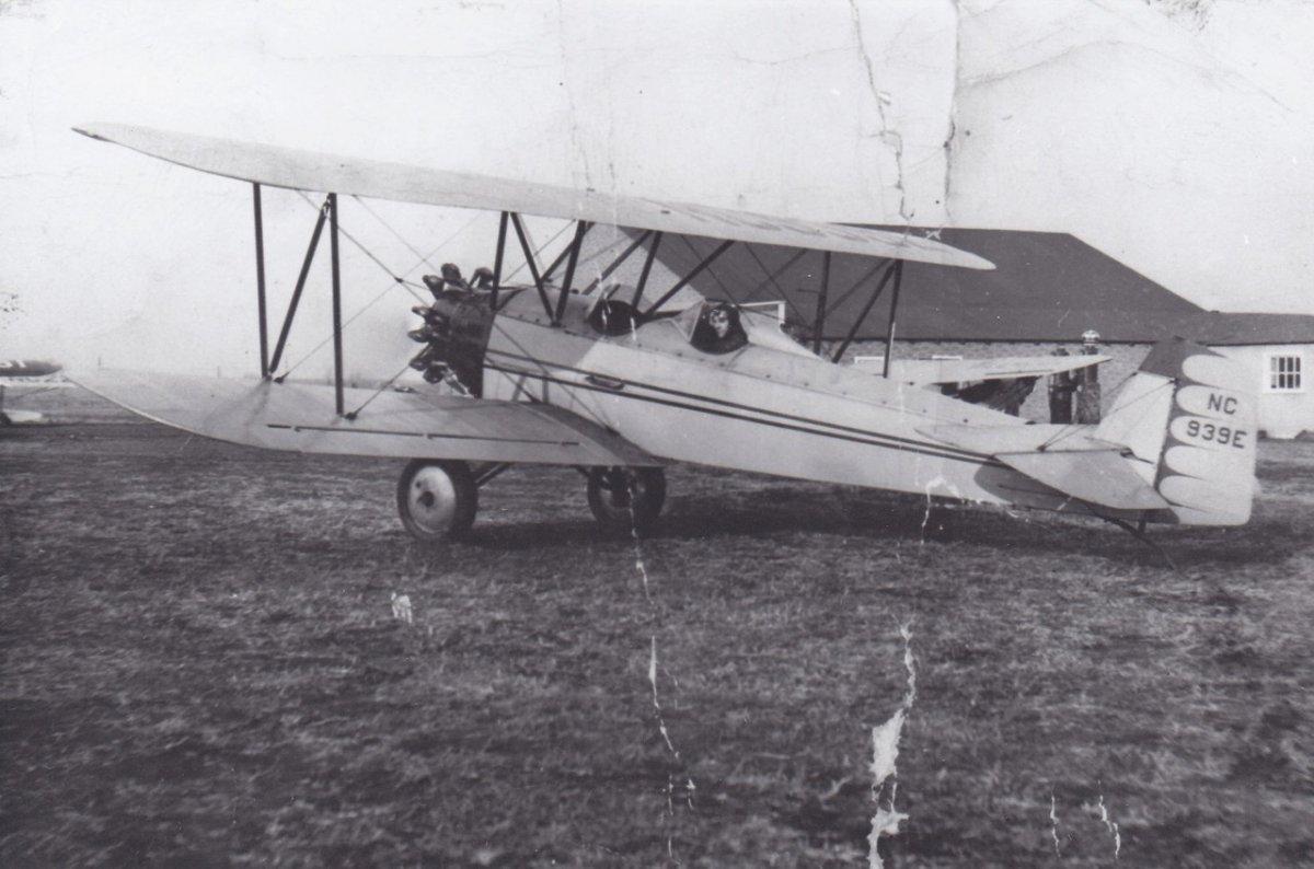 1929 Comand-Air at Sky Haven mid 40's.jpeg