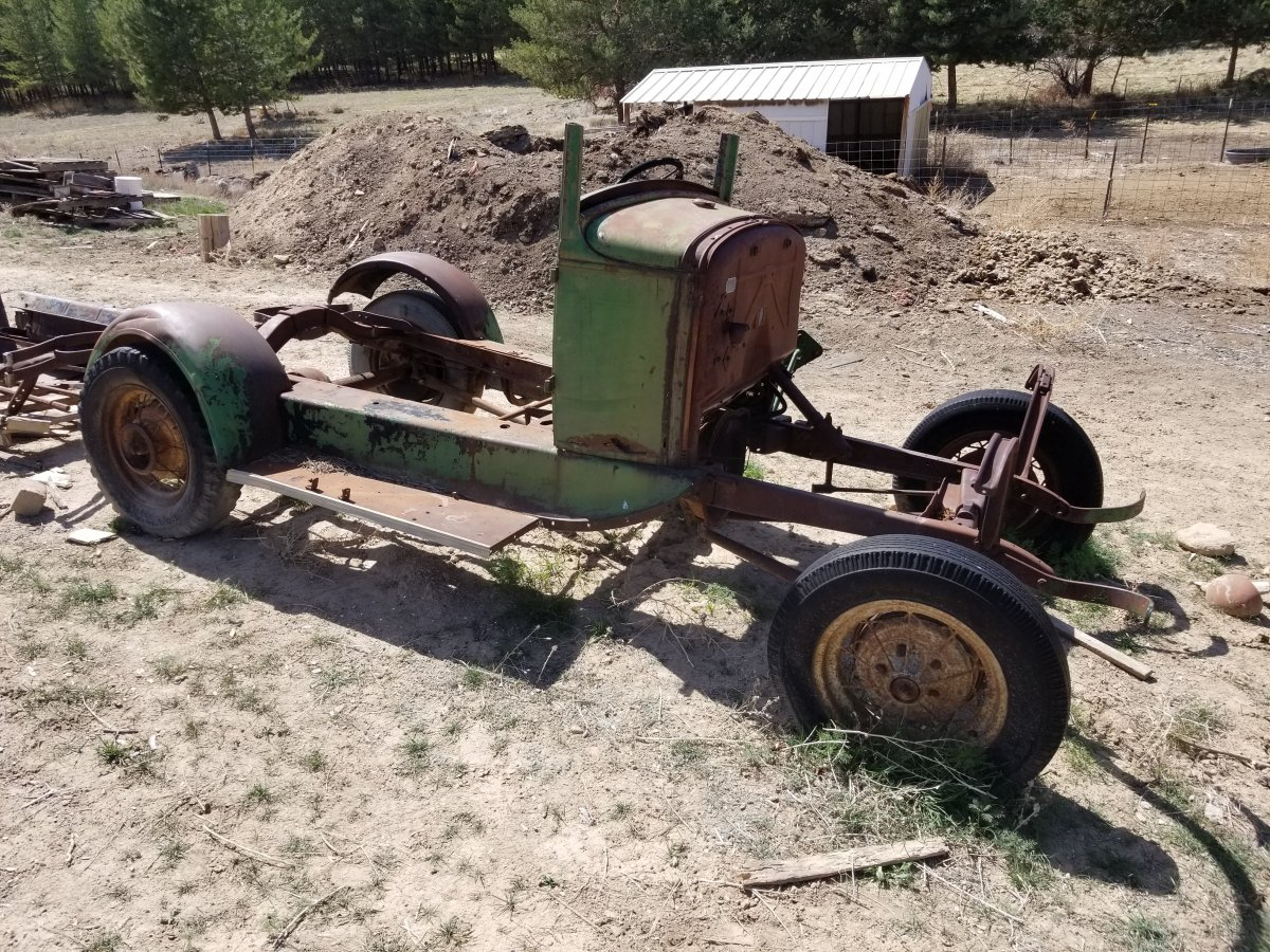 1931 Model A Chassis Before.jpg