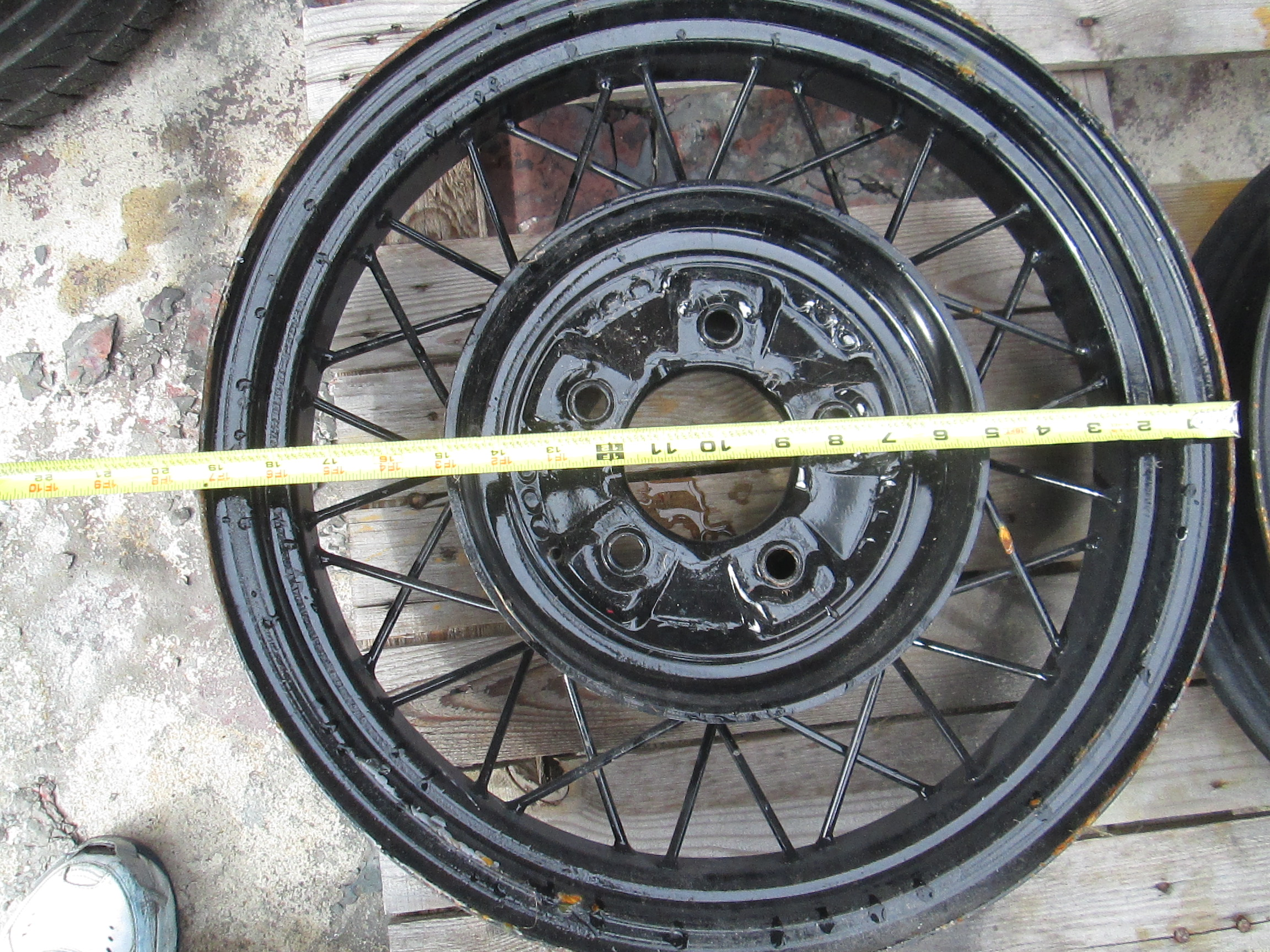 33 Ford Wheels : Wire inch rims the h a m b