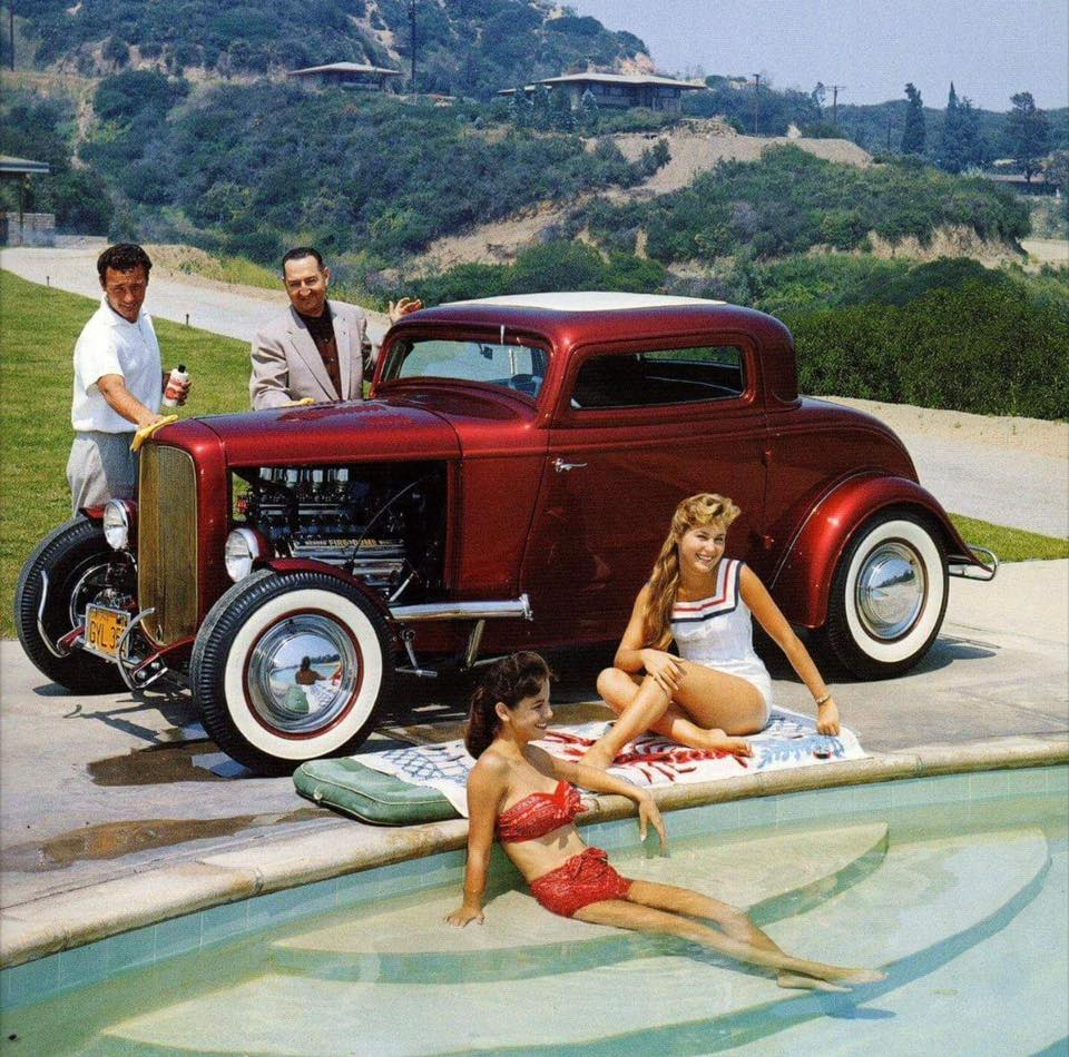 1932 Ford 3W coupe in 1950's.jpg