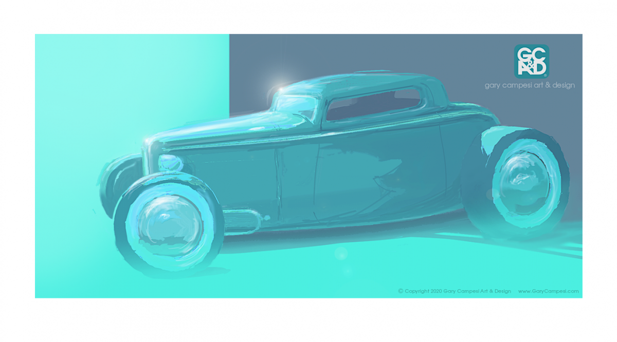1932 FORD 3W Coupe Teal 2.png