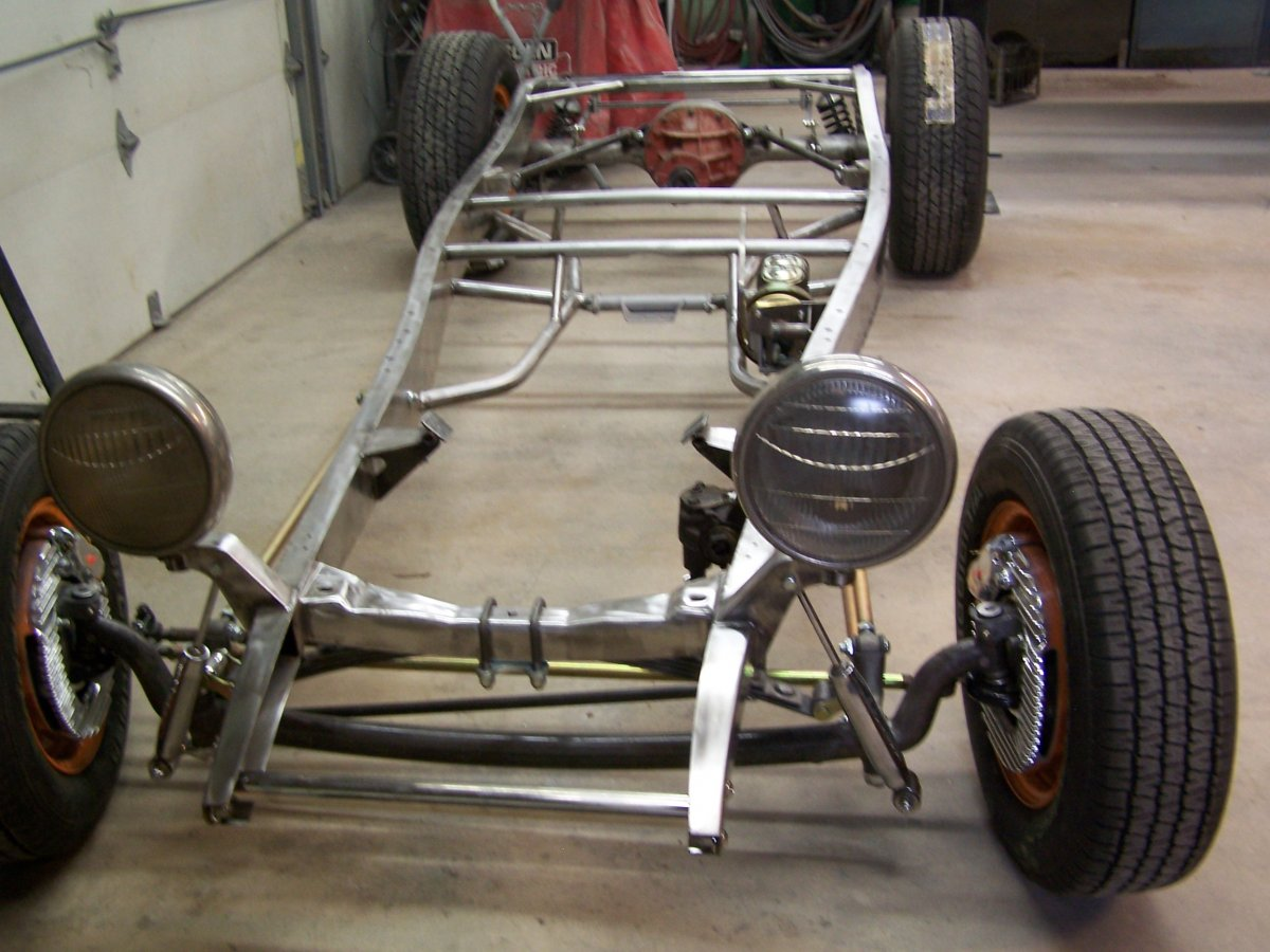 1932 Ford Highboy Rolling Chassis The H A M B