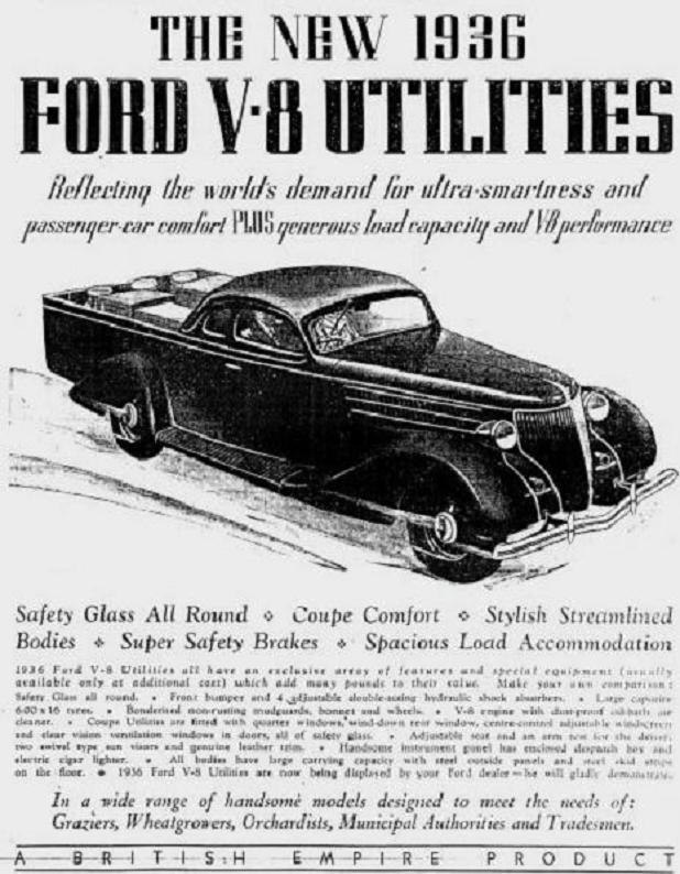 1936 Ford ute ad Australia.jpg