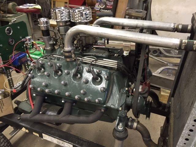 1938 Flathead Ford V8 Motor 221 cu in | The H A M B