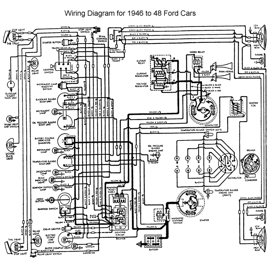 1940 Mercury Wiring Diagram Wiring Automotive Wiring Diagram
