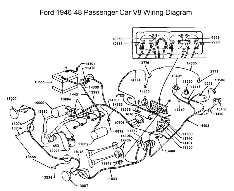 6v positive ground wiring diagram mack truck wiring diagram Ford Schematics at gsmx.co