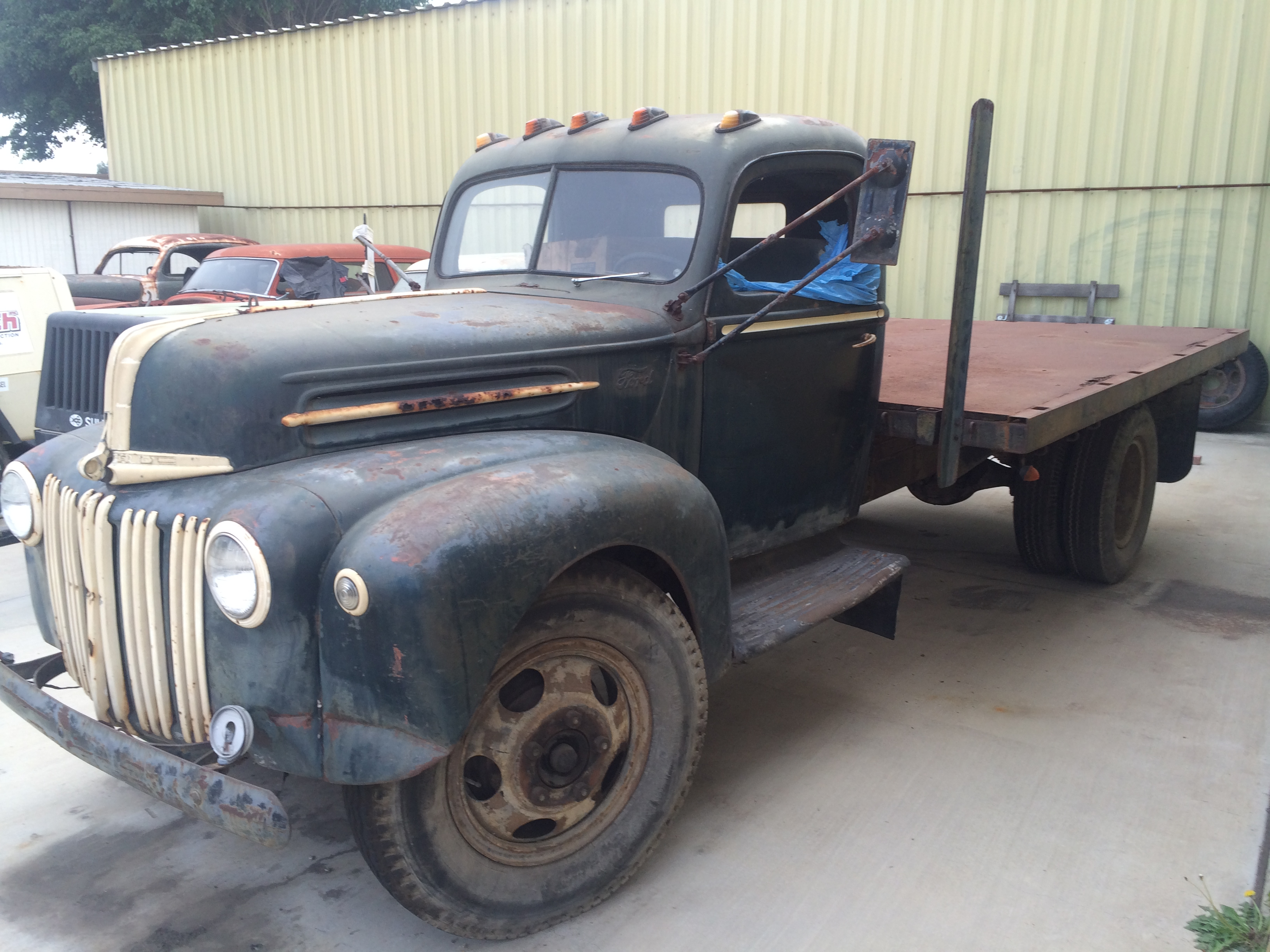 1946 Ford Flatbed Dump Truck
