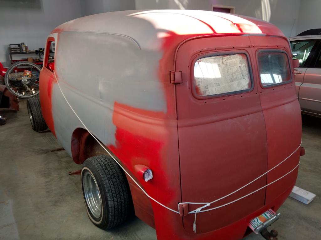 Truck 1948 chevy panel truck : Projects - '57 Chevy Panel Truck build