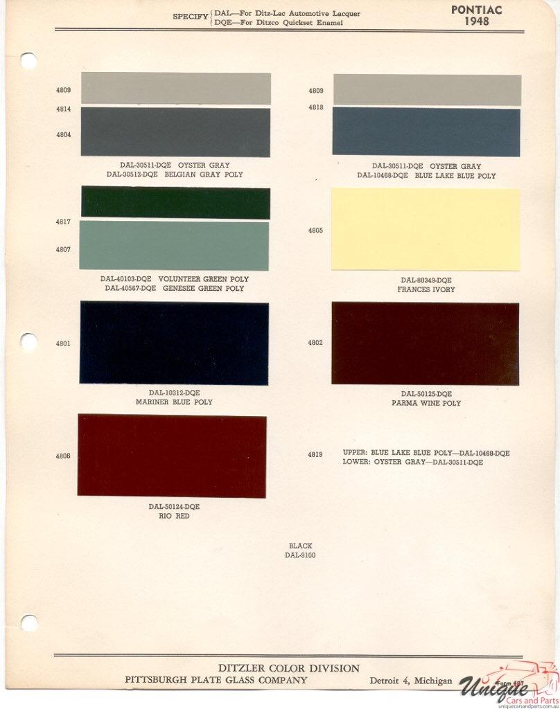 1948 Pontiac Paint Charts PPG.jpg