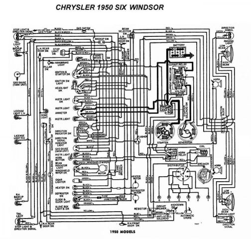 1934 chrysler positive ground wiring diagram farmall a tractor 6 volt positive ground wiring diagram projects - just picked up a 53 dodge cornet | the h.a.m.b.