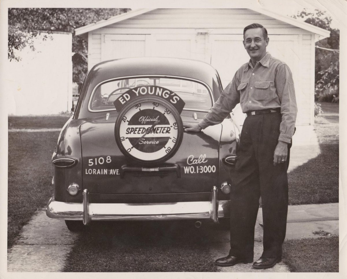 1950 Ford speedometer Service Ed Young.jpg