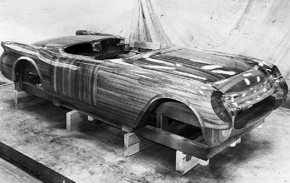 1953 Chevy Corvette  a Wooden Corvette.jpg