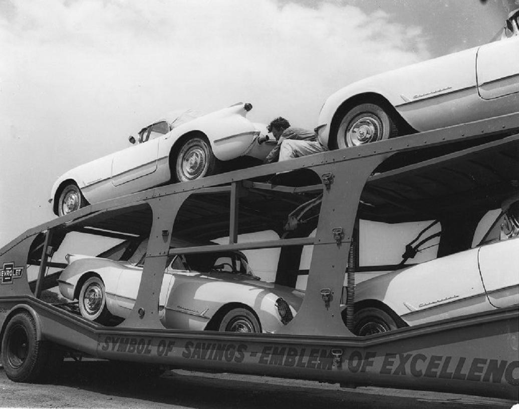 1954 Chevy Corvette car carrier.jpg