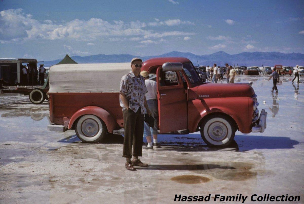 1954 - Ira Hassad after rainout.jpg