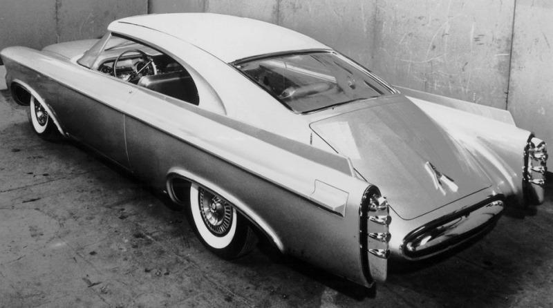 1956 Chrysler Norseman 3-4 Rear B&W.jpg