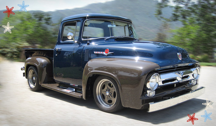 1956 ford f100 classic pickup truck fresh build must sell the h a m b. Black Bedroom Furniture Sets. Home Design Ideas