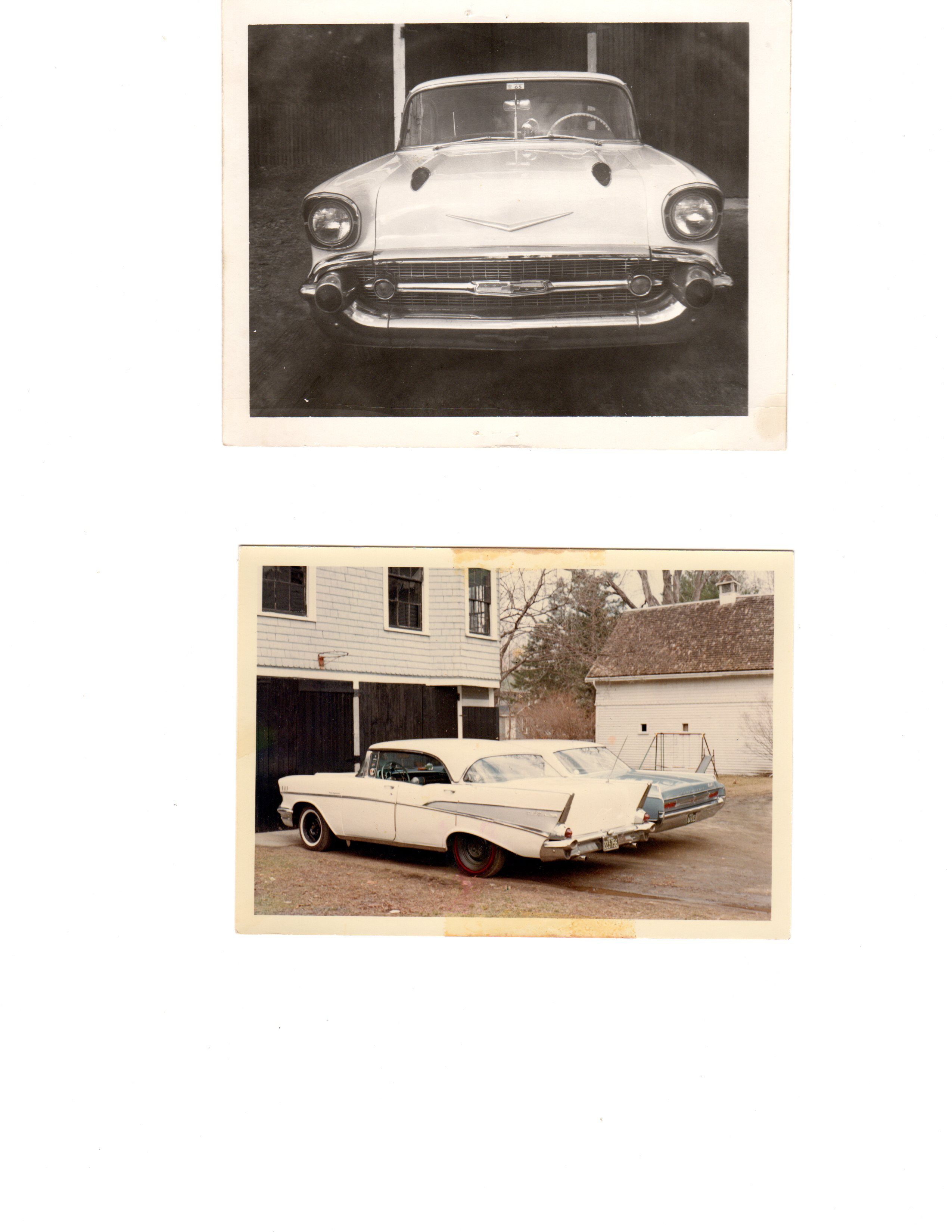 1957 Bel Air front and rear.jpg