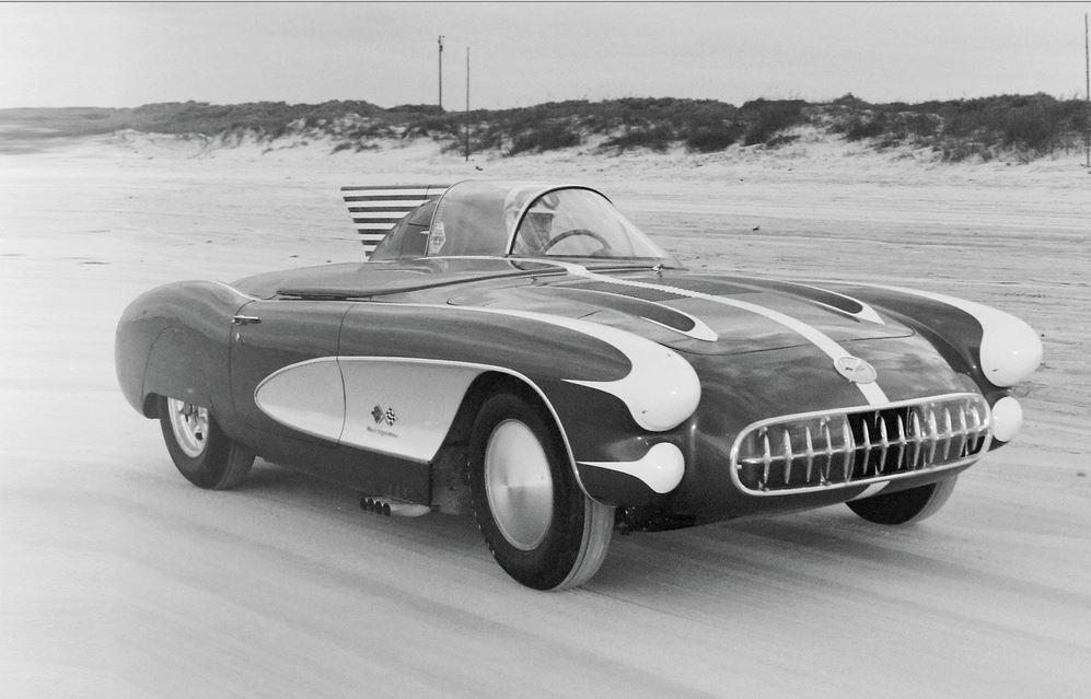1957 Chevy Corvette Style Dept at Daytona Accel Trials 22.JPG