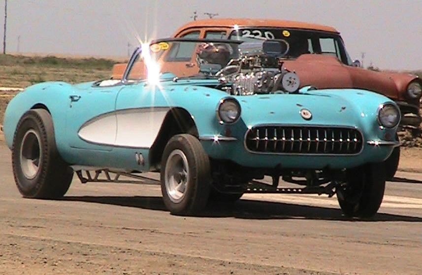 1957 Corvette Gasser Dave Lentz: Kindig It Design S Restomod