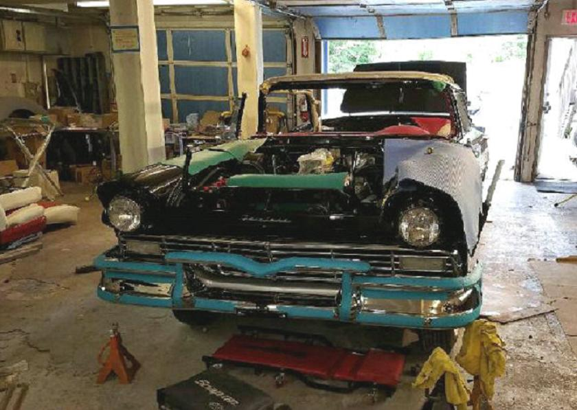 Projects 1957 Ford E Code Factory Dual Quad 312 Quot The