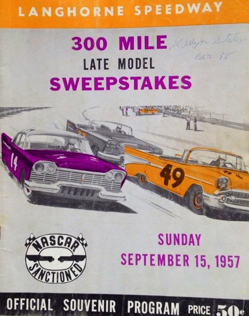 1957 Langhorne Staley program ebay.png