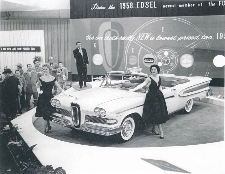 1958 Edsel At Detroit Auto Show.jpg
