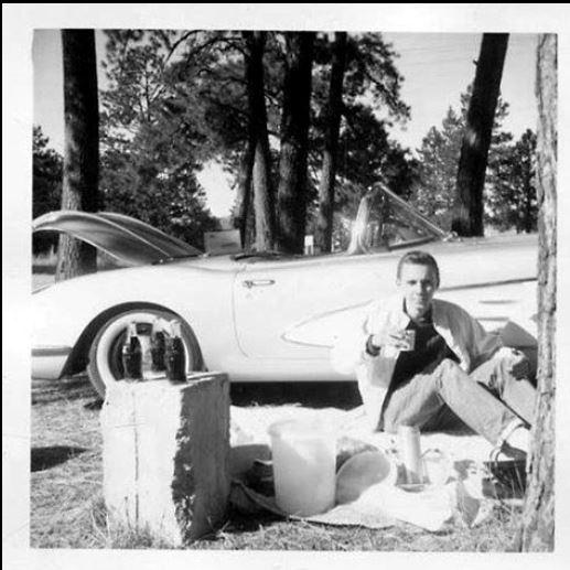 1958 vette and cokes.JPG