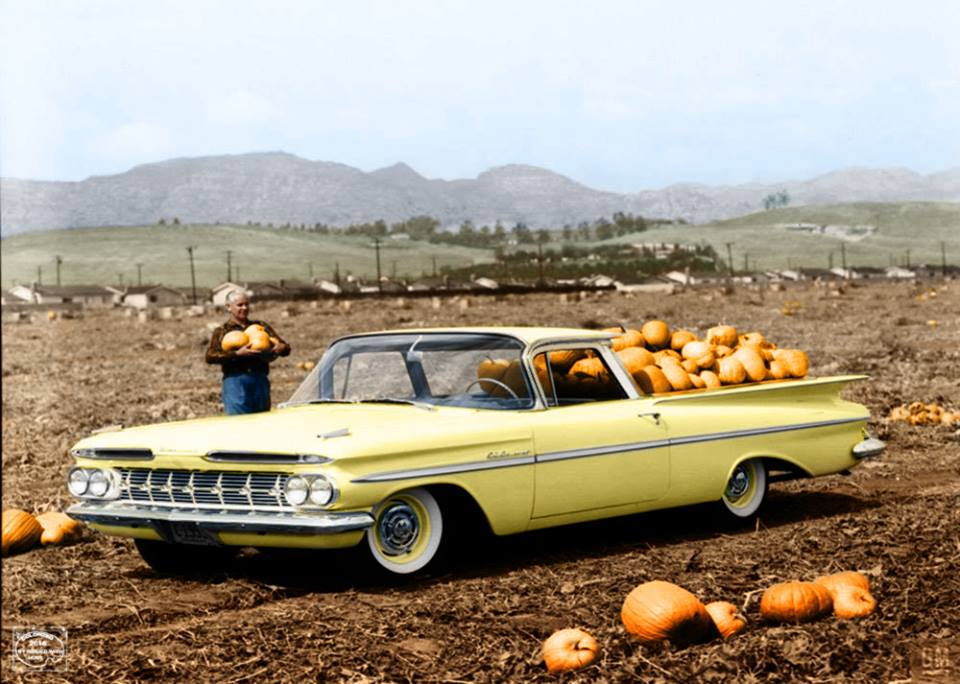 1959 Chevy El Camino pumpkin patch 2.jpg