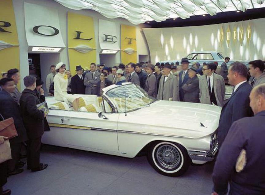 1961 Chevy Impala at show factory photo 4.jpg