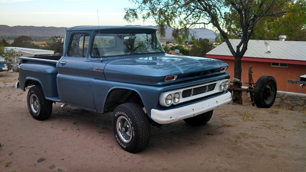1962 Chevy K10 Pickup Sold The H A M B