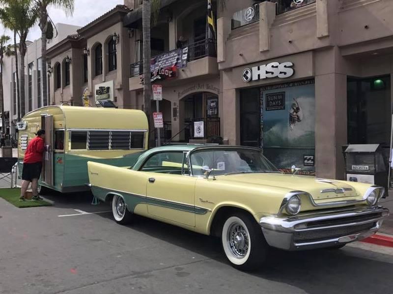 1962 Shasta Airflite and 1957 Desoto Sportsman at the Huntington Beach car show (1).jpg