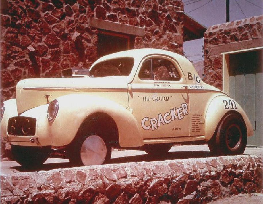 1963 ish John Graham, 'The Graham Cracker' Willys gasser.jpg
