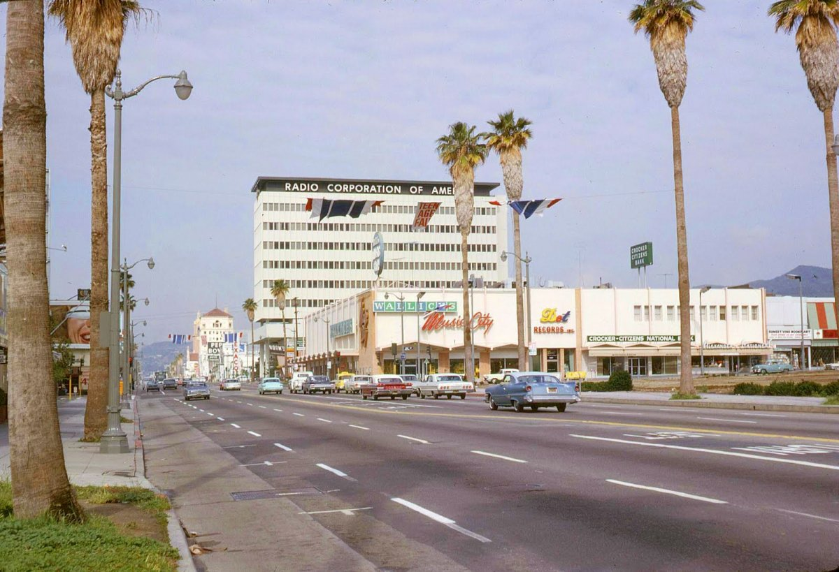 1965 RCA Radio Corporation of America Building Sunset Blvd H.jpg